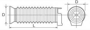 パナソニック EZ9X004 ハンマードリル(EZ6813・EZ7880)用集塵カップ φ80×175mm