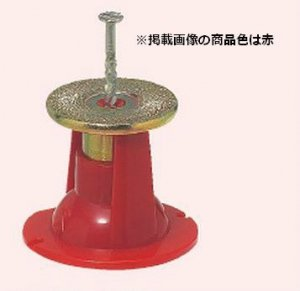 未来工業 NKO-3R カラー・ヘッダーインサート (釘1本止・型枠用) 3分ボルト用 赤