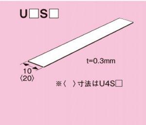 ネグロス U3S100 ユニックバンド 定尺:1m ステンレス鋼 20本入
