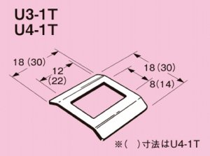ネグロス U3-1T ユニックバンド 管支持サドル 適合バンド幅:10mm ステンレス鋼 20個入