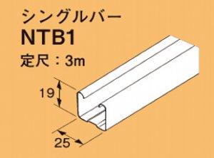 ネグロス NTB1 二重天井用 野ぶち材 定尺 3m、定尺質量 0.8kg 溶融亜鉛めっき鋼板 10本入[法人名あれば]