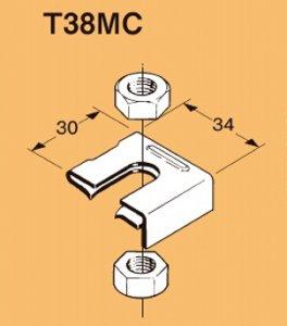 ネグロス T38MC 二重天井用 埋込型蛍光灯器具支持金具 TK315、TK315S、TK415、TK415D、TK515用