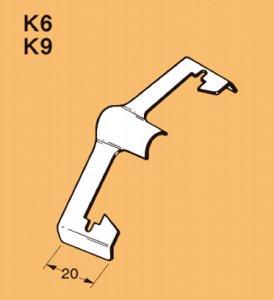 ネグロス  K6 二重天井用 吊りボルト、丸鋼交差金具 吊りボルト W1/4×W1/4・W3/8×W1/4