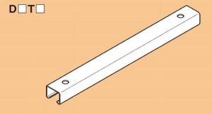 ネグロス SD-D1T80 ワールドダクター 吊りサポート用 短尺ダクターチャンネル 高耐食めっき鋼板