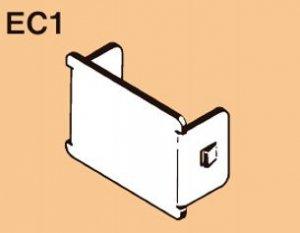 ネグロス EC1 ワールドダクター エンドキャップ 電気亜鉛めっき(U)