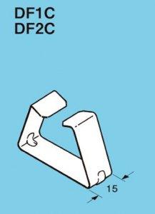 ネグロス DF1C レースウェイ DP1用蓋とめ金具 ステンレス鋼