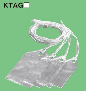 ネグロス KTAG24 ケーブルタグ30X50(適合カード:24X45) (100枚入)