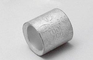 ニチフ P2 銅線用裸圧着スリーブ(P形) φd:2.3mm 100個入