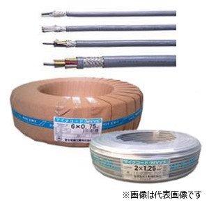 富士電線工業 MVVS 0.3-4 マイクロホン用ビニルコード 4心 0.3平方mm 100m