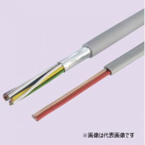 冨士電線 EM-HP 0.9-3C 耐燃性ポリエチレンシース小勢力回路用耐熱電線 3心 0.9mm 200m