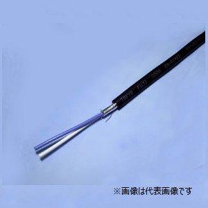 冨士電線 EM-FCPEE 0.9-2P 着色識別ポリエチレン絶縁耐燃性ポリエチレンシースケーブル 2対 0.9mm 切り売り