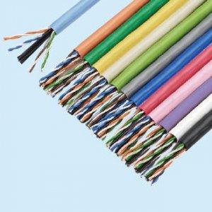 冨士電線 EM-TPCC6 4P×0.5 ハイパーコイルカテゴリー6ケーブル 4対 0.5mm  300m