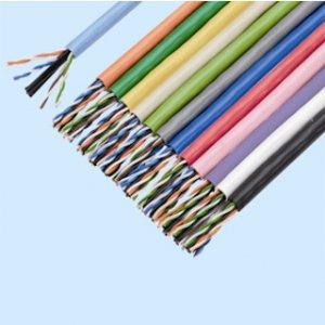 冨士電線 TPCC6 0.5×4P H ハイパーコイルカテゴリー6ケーブル 4対 0.5mm 灰 300m