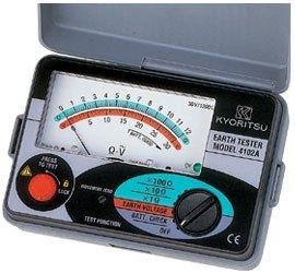 共立電気計器 4102A キューアース 接地抵抗計(ソフトケース付)