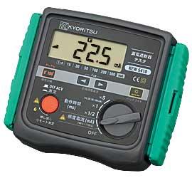共立電気計器 5410 漏電遮断器テスタ