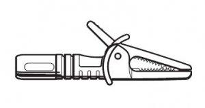 共立電気計器 7131B 安全ワニグチグリップ