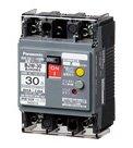 パナソニック BJW20632 漏電ブレーカBJW-30型6.3A 15mA(モータ保護兼用)