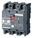 パナソニック BKW2103CMK 漏電ブレーカBKW-30CM型 2P2E 10A 30mA(モータ保護兼用)