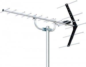 DXアンテナ UA14G UHF14素子アンテナ(雪害対策用) 中電界用 水平垂直偏波 75Ω