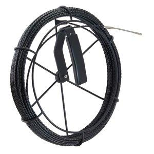 ジェフコム デンサン BX-4015J-RL 呼線リール付セット(ブラックスリムラインスリムヘッド) 15m