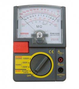 ジェフコム デンサン PDM-1529S 絶縁抵抗計 測定電圧レンジ:250V・500V・1000V