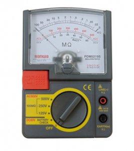 ジェフコム デンサン PDM-5219S 絶縁抵抗計 測定電圧レンジ:125V・250V・500V