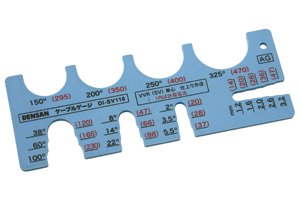 ジェフコム デンサン DI-SV118 ケーブルゲージ VVR線 18サイズ計測可能