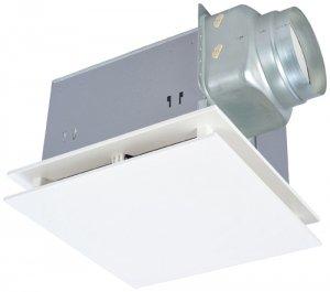 三菱電機 VD-20ZVXE3-FP ダクト用換気扇 天井埋込形 居間事務所店舗用 定風量 24H換気機能 消音形 370m3/h