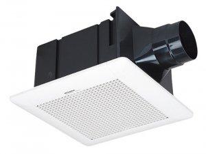 三菱電機 VD-15ZLC9 ダクト用換気扇 天井埋込形 サニタリー用 低騒音形 24H換気機能(3段階切替) 180m3/h