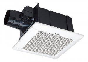 三菱電機 VD-15ZCD9 ダクト用換気扇 天井埋込形 サニタリー用 低騒音形 電気式シャッター付 180m3/h