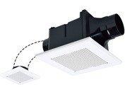 三菱電機 VD-10ZFLC9 ダクト用換気扇 天井埋込形サニタリー用 2部屋用 低騒音形 24時間換気機能付 120m3/h