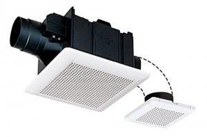 三菱電機 VD-15ZFCD9 ダクト用換気扇 天井埋込形 サニタリー用 2部屋用 低騒音形 電気式シャッター 210m3/h
