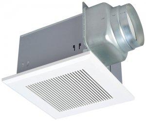 三菱電機 VD-18ZLX10-CS ダクト用換気扇 天井埋込形 居間事務所店舗用 低騒音形 24H換気機能 格子 300m3/h