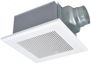 三菱電機 VD-15ZXP10-C ダクト用換気扇 天井埋込形 居間事務所店舗用 低騒音形 インテリア格子 大風量