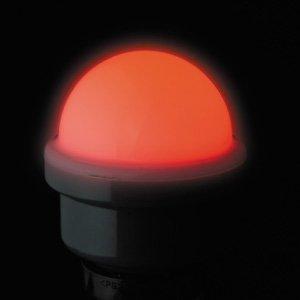 ジェフコム P18SW-E2601-R LEDサイン球(散光タイプ) レッド