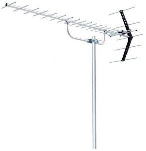 DXアンテナ UL20 UHFローチャンネル用20素子アンテナ 中・弱電界用 水平垂直偏波 75Ω