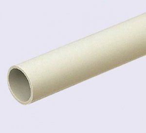 未来工業 VE-22J4 硬質ビニル電線管(J管) VE管 近似内径22mm 長さ4m ベージュ(5本)