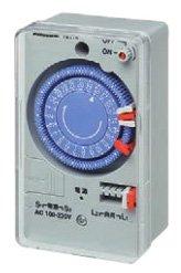 パナソニック TB11N ボックス型タイムスイッチ クォーツモータ式 AC100-220V (24時間式)(1回路型)
