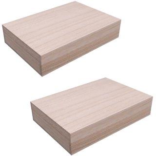 桐箱 2個セット ブレスレット(念珠・数珠)用総桐箱 Lサイズ