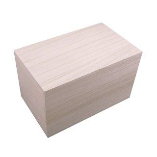桐箱 贈答品用総桐箱 S-H2サイズ (和製用品の収納に最適)