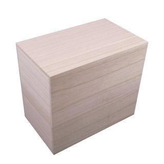桐箱 贈答品用総桐箱 S-H3サイズ (和製用品の収納に最適)
