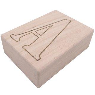 小さな桐箱 総桐箱 ミニサイズ 焼印 アルファベット(A〜Z)
