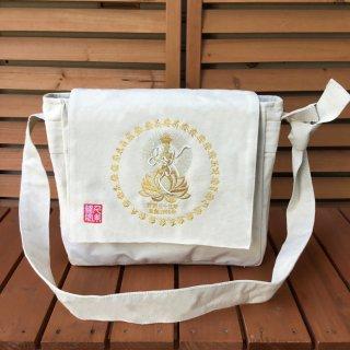 千糸繍院 西国三十三所 草創1300年記念 巡礼バッグ メッセンジャー(金糸刺繍タイプ)