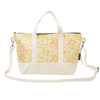 千糸繍院 西陣織 金襴 ショルダーバッグ(裏地付き)  檸檬水仙