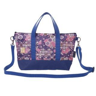 千糸繍院 西陣織 金襴 ショルダーバッグ(裏地付き)  花紋牡丹