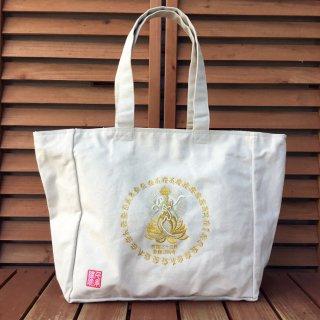 千糸繍院 西国三十三所 草創1300年記念 巡礼バッグ ショルダートート(金糸刺繍タイプ)