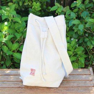 千糸繍院オリジナル インド綿帆布ナチュラルリュックサック フィット