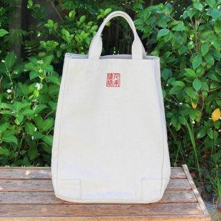 千糸繍院オリジナル インド綿極厚帆布ヘビーデューティートートバッグ ビッグタフ