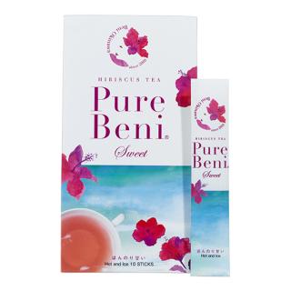 琉球ハーブパウダー「PureBeni Sweet」ピュアベニ スイート  フラワーティー (10包入)