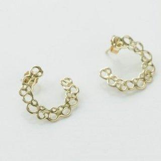Bubbling Moon Pierced Earrings バブリングムーン ピアス